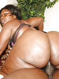 Pussy big mature black ass
